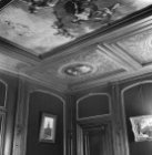 Keizersgracht 494, zaal in het achterhuis met plafondschilderingen