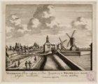 Gesicht van de WEESPER Poort: komende van de Amstelbrug