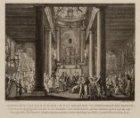 Afbeelding van de R.C. Kerk, op het Begijnhof te Amsterdam, van binnen