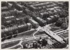 Luchtfoto van het Vondelpark en omgeving gezien in zuidoostelijke richting