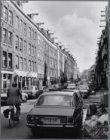 Gerard Doustraat. Gezien in westelijke richting naar Ferdinand Bolstraat