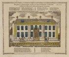 Het gebouw van Barmhartigheid, staande op de Nieuwe Keizersgracht, te Amsterdam