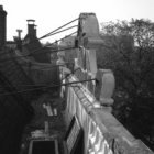 Herengracht 548, detail van het dak en de attiek