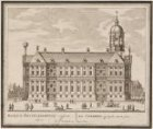 Het Stadhuis op zyde; aan te sien