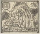 Amsteldam ten vierde mael vergroot is versterckt met Aerde wallen en Bolwercken …