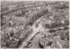 Luchtfoto van het Muntplein en omgeving gezien in noordelijke richting