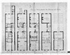 Verbouwing van een herenhuis, Keizersgracht 580. Opmetingstekening van plattegro…
