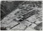 Luchtfoto van de tuinstad Slotermeer in aanleg gezien in oostelijke richting