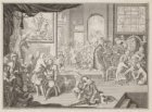 Allegorie op de geneeskunst voor de Almanak van het Chirurgijns Gilde voor de ja…