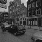 Buiten Brouwersstraat 18 - 22 v.r.n.l. met aansluitend links de zijgevel van Haa…