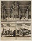 Nieuwezijds Kapel; De Kerk van Binnen, van t'' Westen naa t'' Oosten te Zien. Ni…