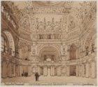 Ontwerp voor een Beursgebouw aan het Damrak door Hendrik Petrus Berlage en Theod…