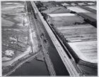 Luchtfoto van de Haarlemmerweg, gezien in oostelijke richting