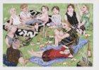 Barbecue in het Vondelpark, schenker: Amsterdams Fonds voor de Kunst