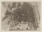 Amsterdam met haar verscheyde vergrootingen, zo als het was, tot den Jare 1658