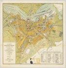 Plattegrond van Amsterdam met Uitbreidingsplan Berlage en het nieuwe Damplan [..…