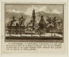 De Westerkerk en Vleeschhal 't Amsterdam van welke halle het bovenste gedeelte b…