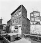 Kleersloot 5 - 7, rechts de achtergevel van Keizersstraat 26