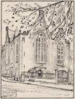 Lutherse kerk | Spui, hoek Singel | Amsterdam | Ao. 1633
