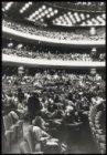 De eerste proefvoorstelling met publiek met de opera Fidelio in het Muziektheate…
