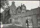 Keizersgracht 95B hoek Herenstraat, herbouw van panden door Stadsherstel