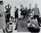 Groepsportret van Nederlandse fotografen