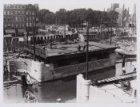 De bouw van de Willemsbrug, Brug 151 over de Singelgracht en de Mirakelbrug, Bru…