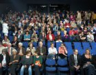 Blauwe zaal in theater De Meervaart