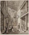 Het interieur van de rooms-katholieke kerk De Krijtberg, Singel 446-448, gezien …