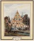 Het Rokin bij de Langebrug Thans Leesmuseum