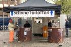 Koninginnedag/Kroningsdag 2013. Inhuldiging van koning Willem-Alexander. Toiletv…