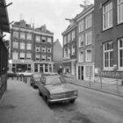 Tweede Boomdwarsstraat 2, de zijgevel met aansluitend rechts Karthuizersstraat 1…