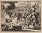 Terechtstelling van Wederdopers. Datering voorstelling: 24-05-1546. Techniek: gr…