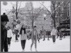 Het ijsbaantje op het Leidseplein