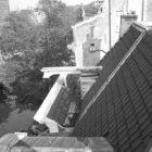 Herengracht 556 (ged.) gezien vanaf het dak van Herengracht 548