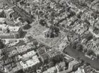 Luchtfoto Burgwallen Oude Zijde
