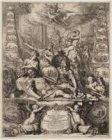 Allegorische gedenkprent op de dood van admiraal Michiel Adriansz de Ruijter (16…