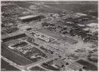 Luchtfoto van de luchthaven Schiphol (gemeente Haarlemmermeer) gezien  in noordw…