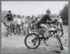 Sidney van Beusekom en de fietscrossertjes van de Egidiusstraat