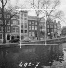 Reguliersgracht 25 (ged.) - 39 en rechts de Keizersgracht