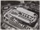 Luchtfoto van het Frederiksplein gezien in noordoostelijke richting tijdens de S…