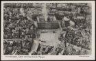 Luchtfoto Dam en koninklijk Paleis, met daarachter de Nieuwezijds Voorburgwal, l…