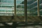 Binnenplaats van gebouw Ito aan de Claude Debussylaan