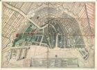 Platte gront van d'oude en nieuwe royinge der Stadt Amsterdam Waer van d'oude en…