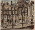 Prinsengracht 333-339 en rechts ingang Reestraat