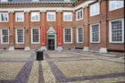 Binnenplaats van het Amsterdams Historisch Museum, Kalverstraat 92, de voormalig…