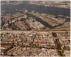 Luchtfoto met van onder naar boven: Jordaan, Brouwersgracht, Haarlemmerbuurt, We…