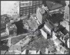 Luchtfoto van de Nieuwmarktbuurt, tijdens metrorellen
