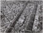 Luchtfoto van deel van Jordaan en deel van noordelijke grachtengordel