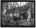 Amstelveenseweg 195 (vóór 1898 nr. 8), achterzijde van boerderij Ooster-Schinkel